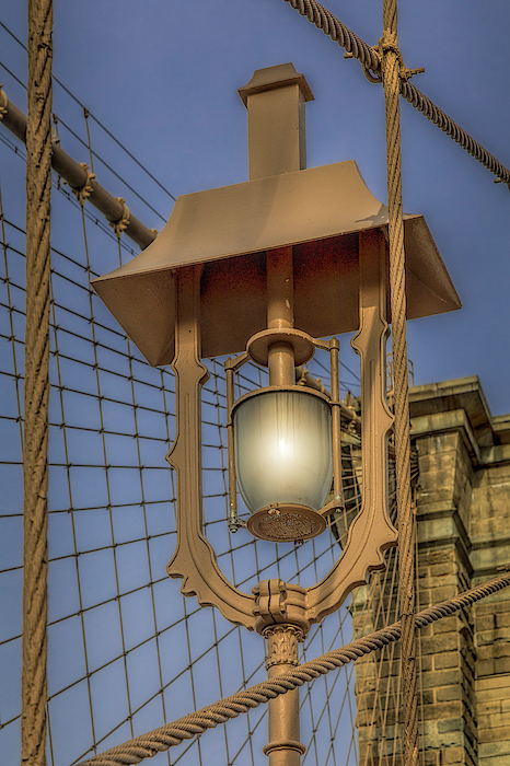 Brooklyn Bridge Lamp by Susan Candelario